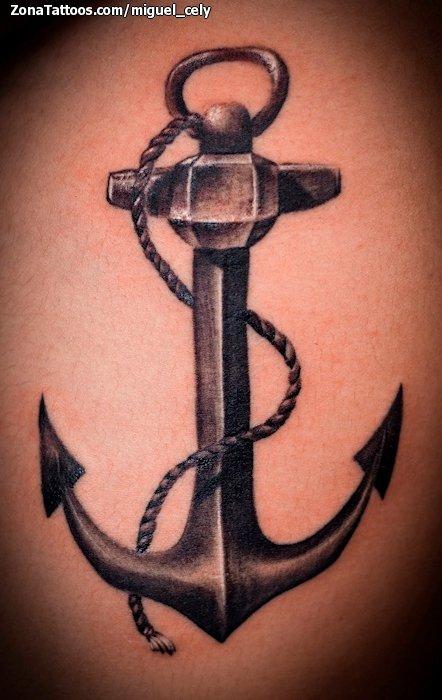 Tatuaje De Anclas
