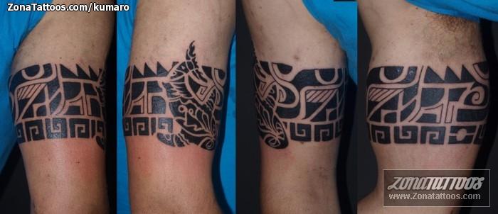 Tatuaje de Maores Brazaletes