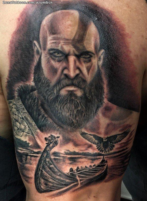 Tattoo Of God Of War Vikings Videogames