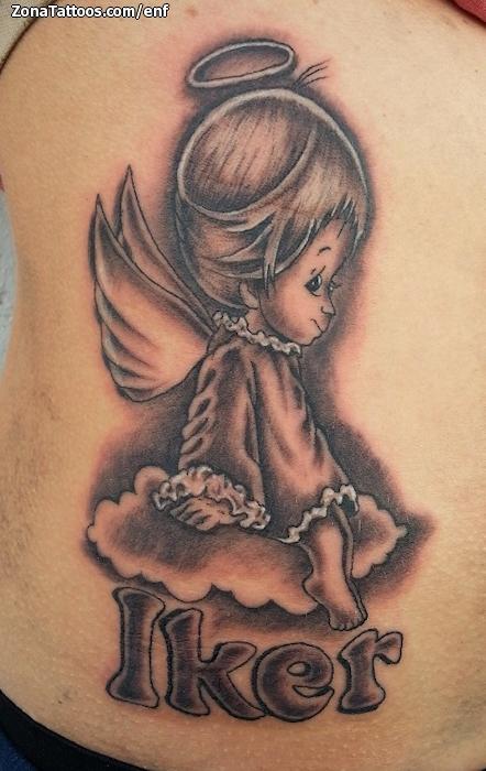 Tatuajes De Angelitos. Trendy Tatuje Alas Grandes With