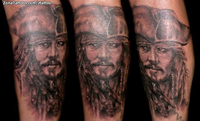 tatuajes jack sparrow