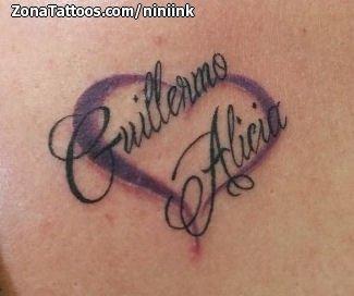 Tatuaje De Corazones Guillermo Alicia