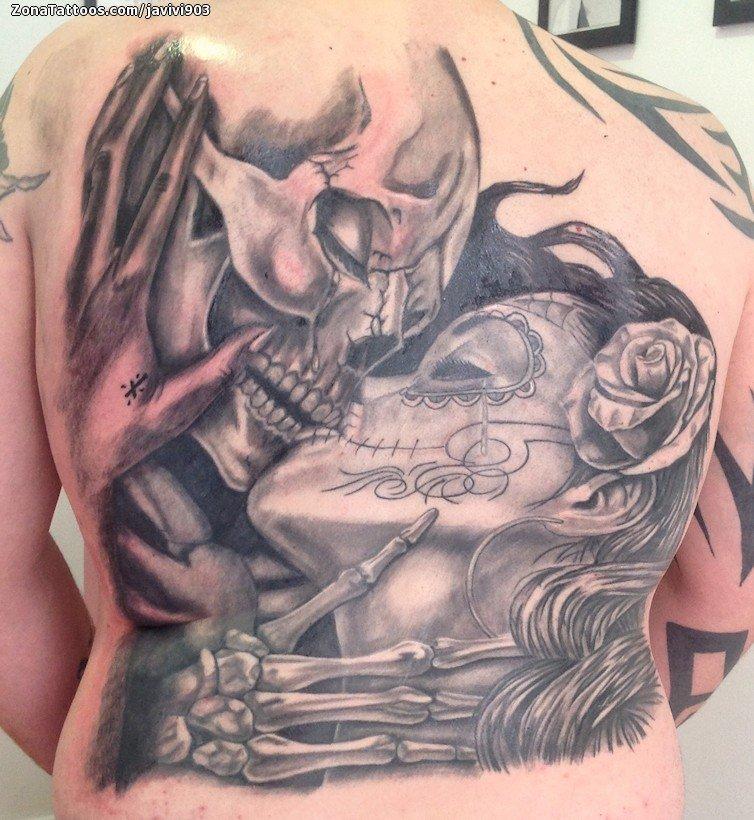 Tatuaje De Calaveras Catrinas Manos