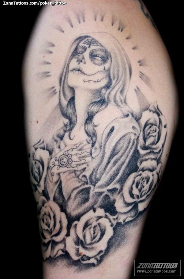 Tatuaje Catrinas