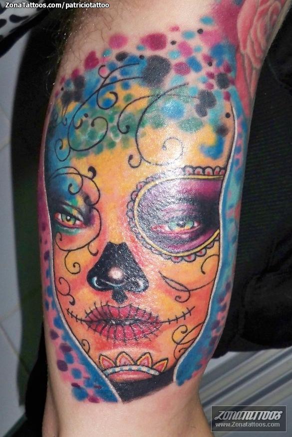 Tatuaje De Catrinas