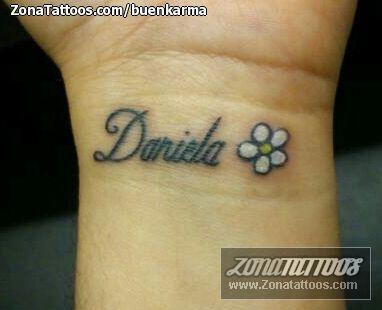 Tatuajes y diseos del nombre Daniela ZonaTattoos