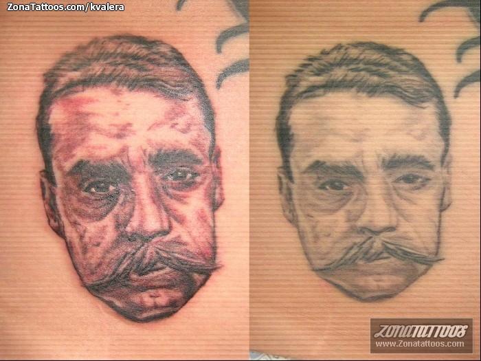 Tatuaje de comunidad de amantes del for Emiliano zapata tattoo