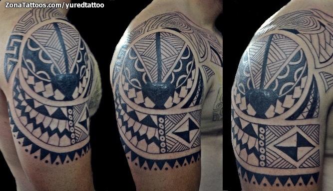 Tatuaje de Maores Hombro