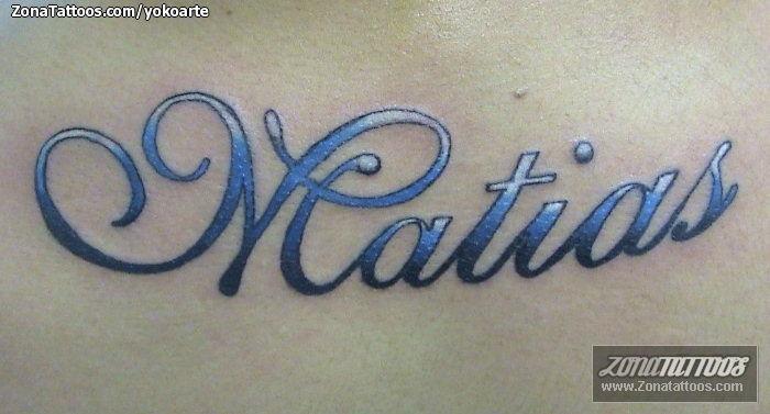 Tatuaje Matías