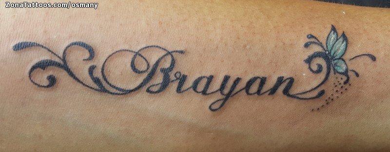 Tatuajes Y Diseños Del Nombre Brayan Zonatattoos