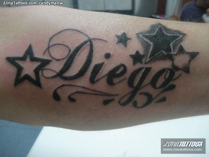 Tatuajes Y Disenos Del Nombre Diego Zonatattoos