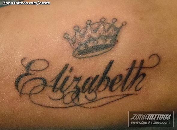 Tatuajes Y Disenos Del Nombre Elizabeth Zonatattoos