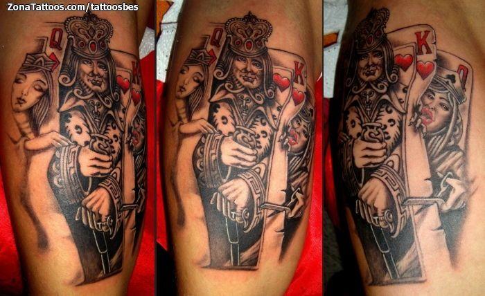 Dibujos de poker para tatuajes
