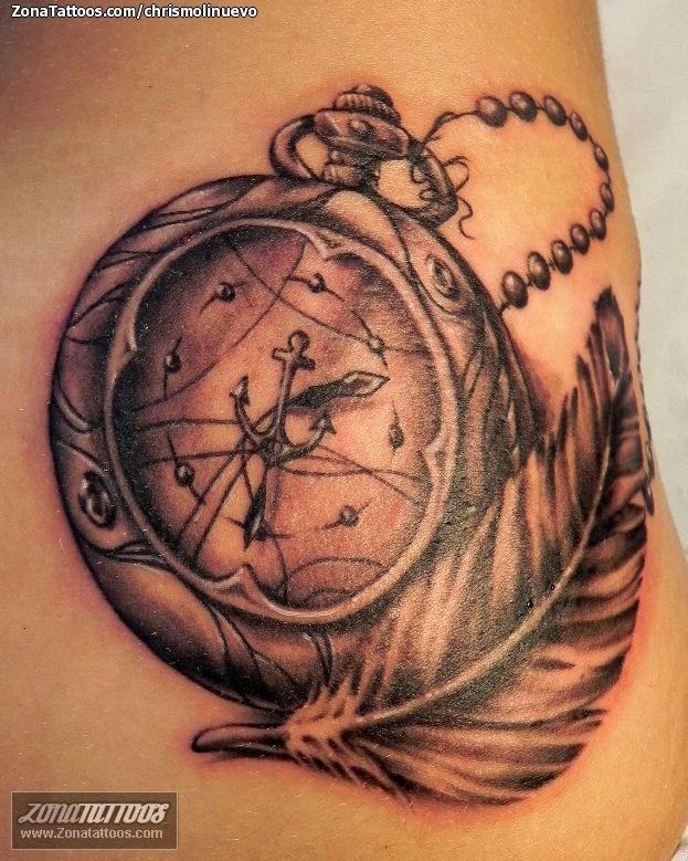 Pin tatuajes de reloj arena pelautscom on pinterest for Imagenes de relojes