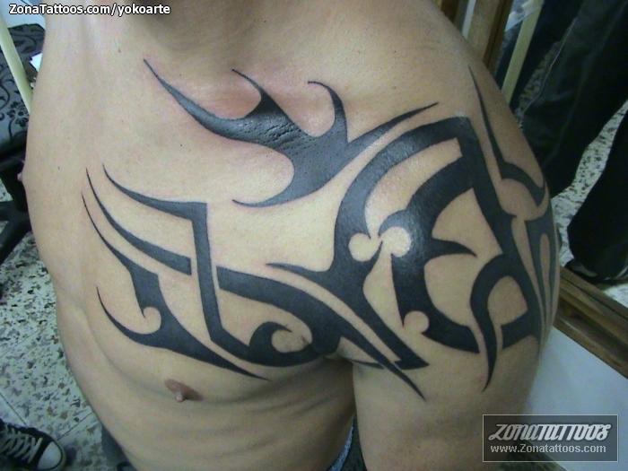 Tattoo Of Tribal Shoulder