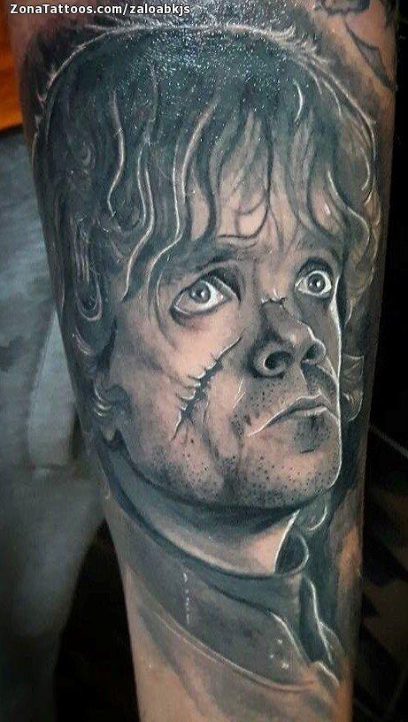 Tatuaje De Juego De Tronos Series De Tv Rostros