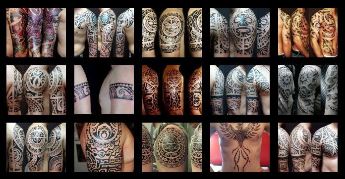 Tatuajes Maoríes Y Diseños Maoríes O Polinesios