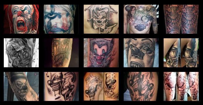 Tatuajes Y Diseños Payasos