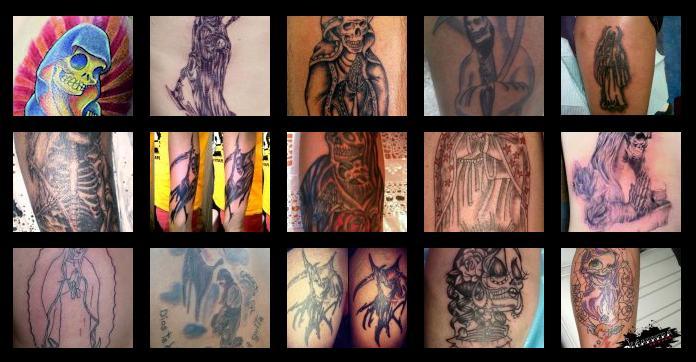 Tatuajes Y Diseños Santa Muerte