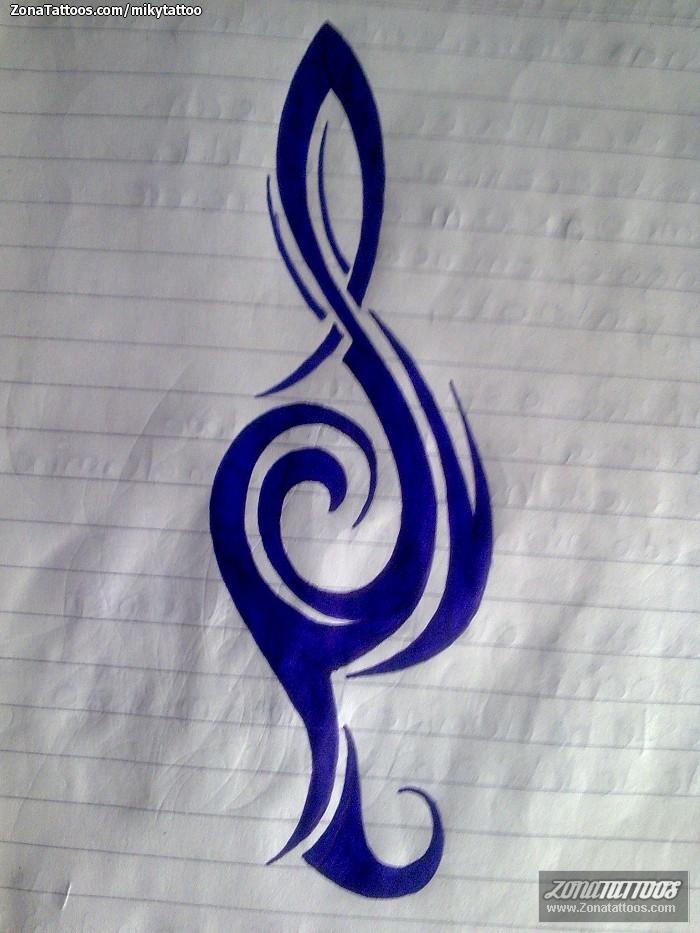 Diseño De Notas Musicales
