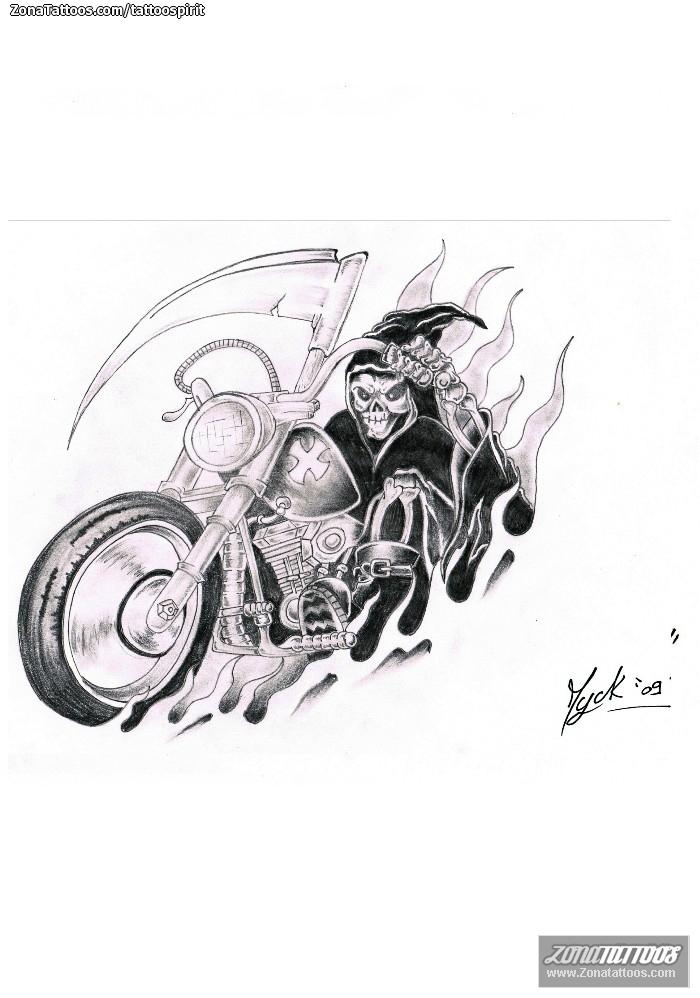 Dise o de muertes motos veh culos for Disenos de motos