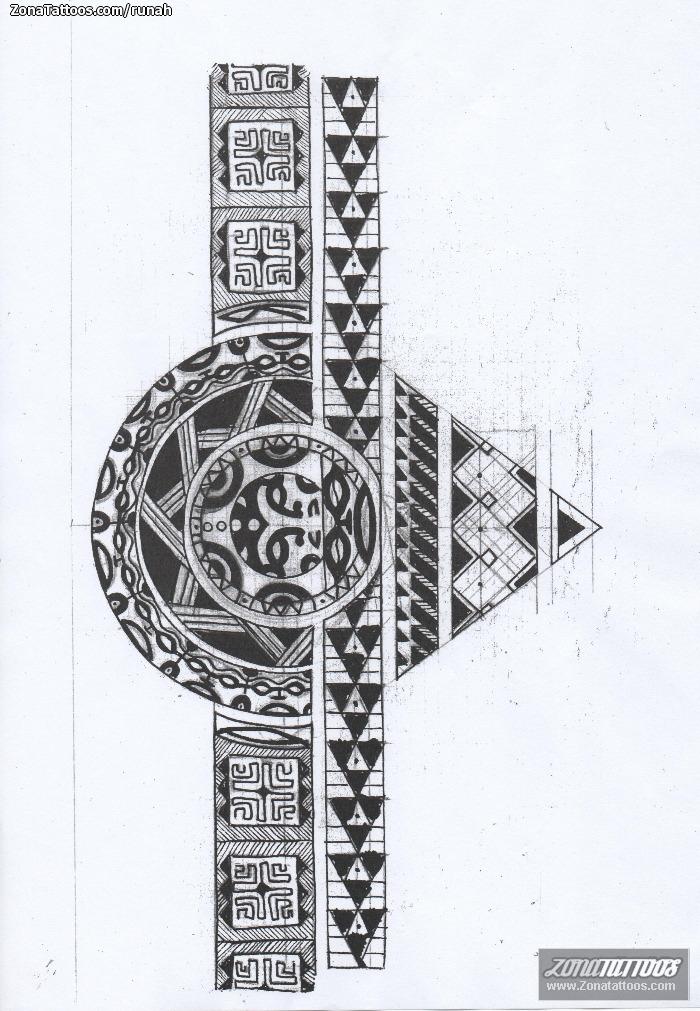 Diseño/Plantilla tatuaje Maoríes