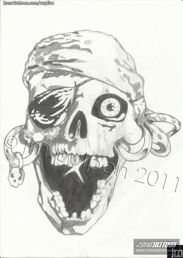 Diseño de Calaveras, Piratas