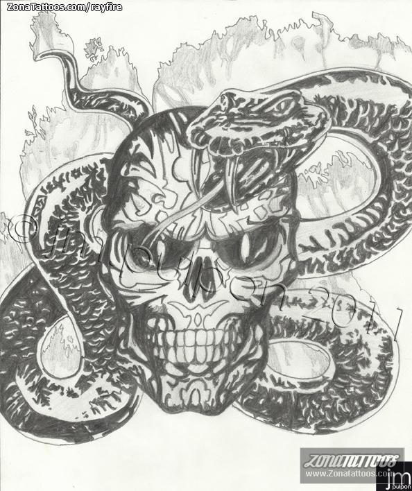 Diseo de Serpientes Calaveras