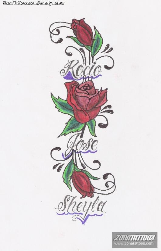 Diseno De Rosas Nombres Flores - Diseos-de-rosas