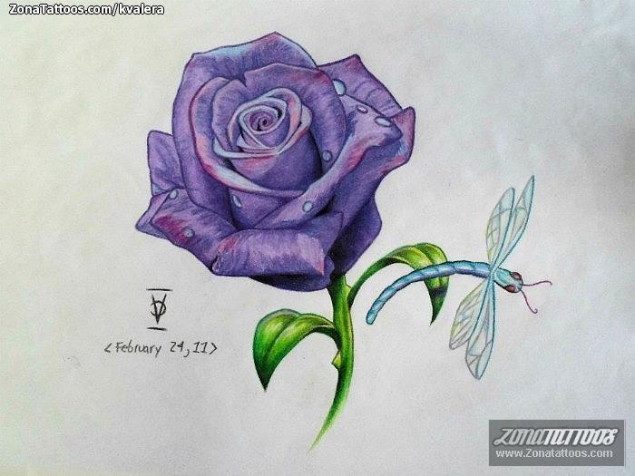 Rosas tattoo diseños - Imagui