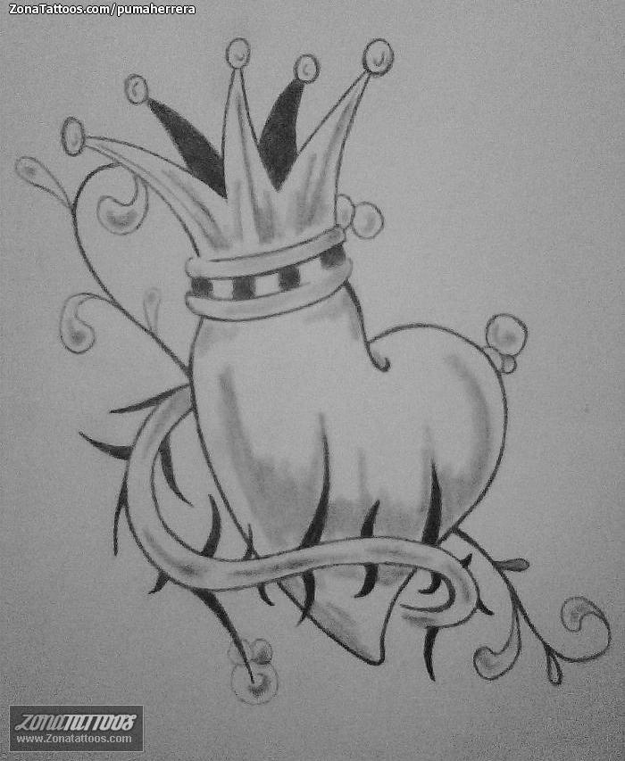 Diseño de Corazones, Coronas