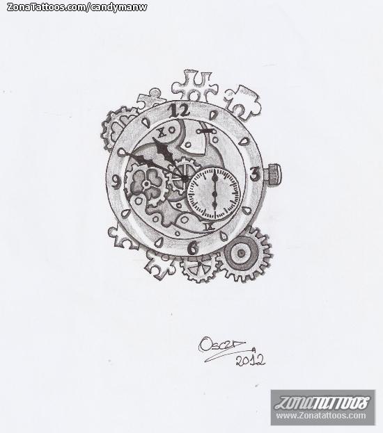 Dise o de relojes - Reloj de pared de diseno ...
