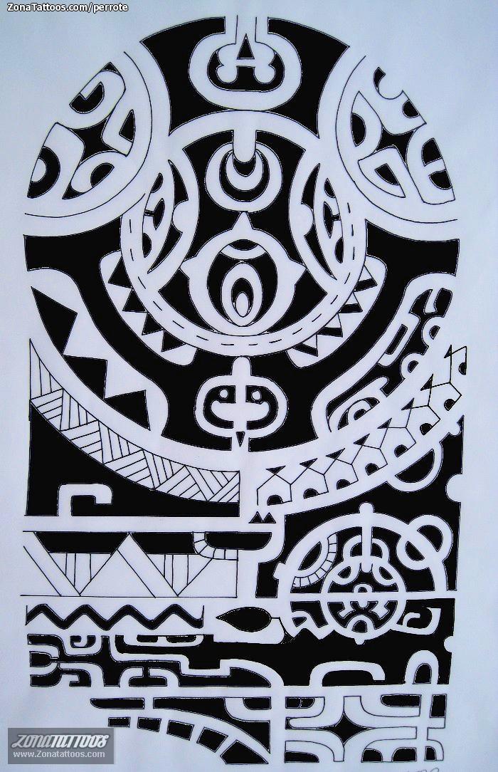 Plantillas de tatuajes maories gratis