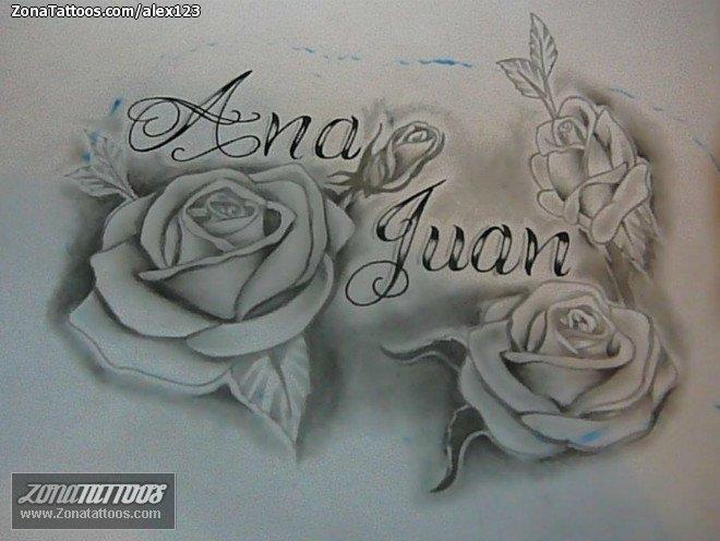 Diseo de Nombres Letras Ana