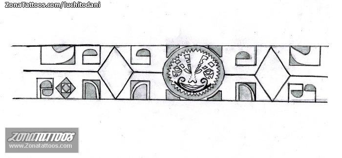 Diseño De Brazaletes Maoríes
