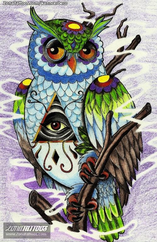 Dise o de b hos aves animales - Tattoo disenos a color ...