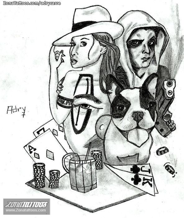Diseños Tatuajes , Tattoo Flashes , Estilo Chicano, Materiales para ...: funny-pictures.picphotos.net/maras-pandillas-latinas-aztec-tattoos...