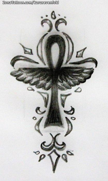 Tatuajes Y Disenos De Ankh La Cruz Egipcia