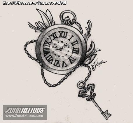 Dise o de relojes llaves - Relojes de pared diseno ...