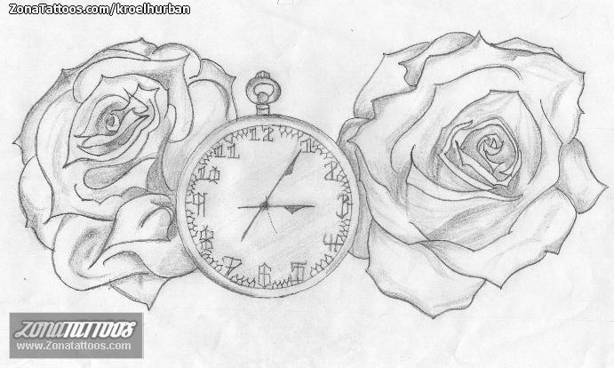 Diseños Para Tatuajes De Reloj Sfb