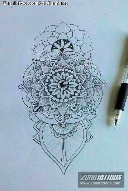 Diseño De Mándalas Flores