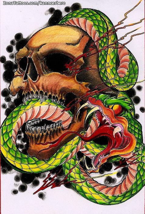 Tatuajes y diseos Serpientes