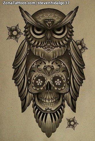Tatuajes Y Diseños De Búhos
