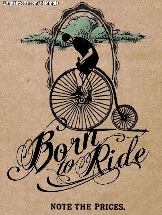 Dise o de bicicletas letras nubes for Disenos para bicicletas