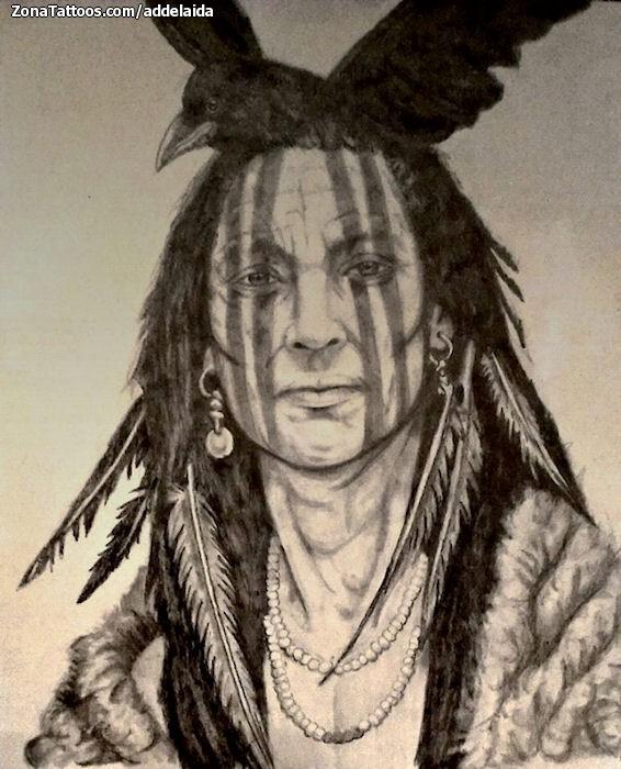 Diseño De Indios Personas
