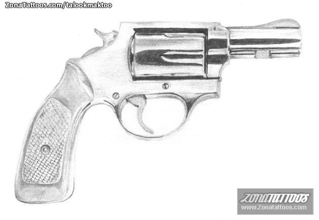 dise u00f1o de pistolas  armas