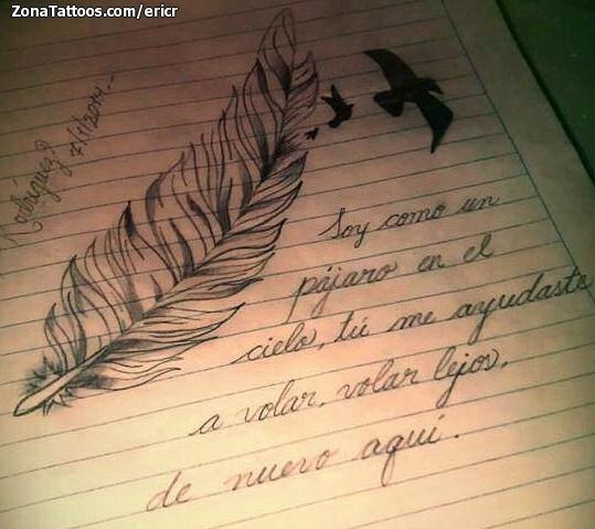 Dise o de frases letras plumas for Frases de disenos de interiores