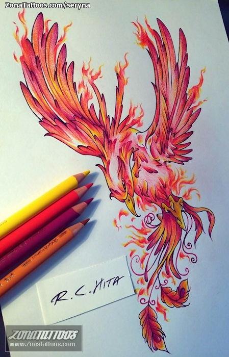 Design Of Phoenix Fantasy