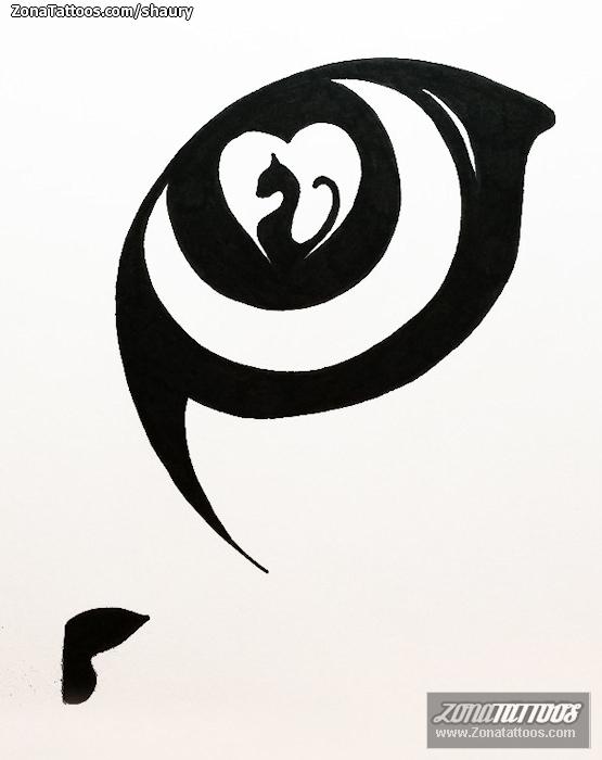 Diseño De Gatos Ojos Animales