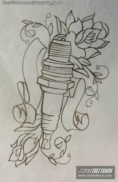 What Is A Spark Plug >> Diseño de Bujías, Flores